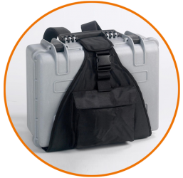 explorerLine Koffer with back carrying system
